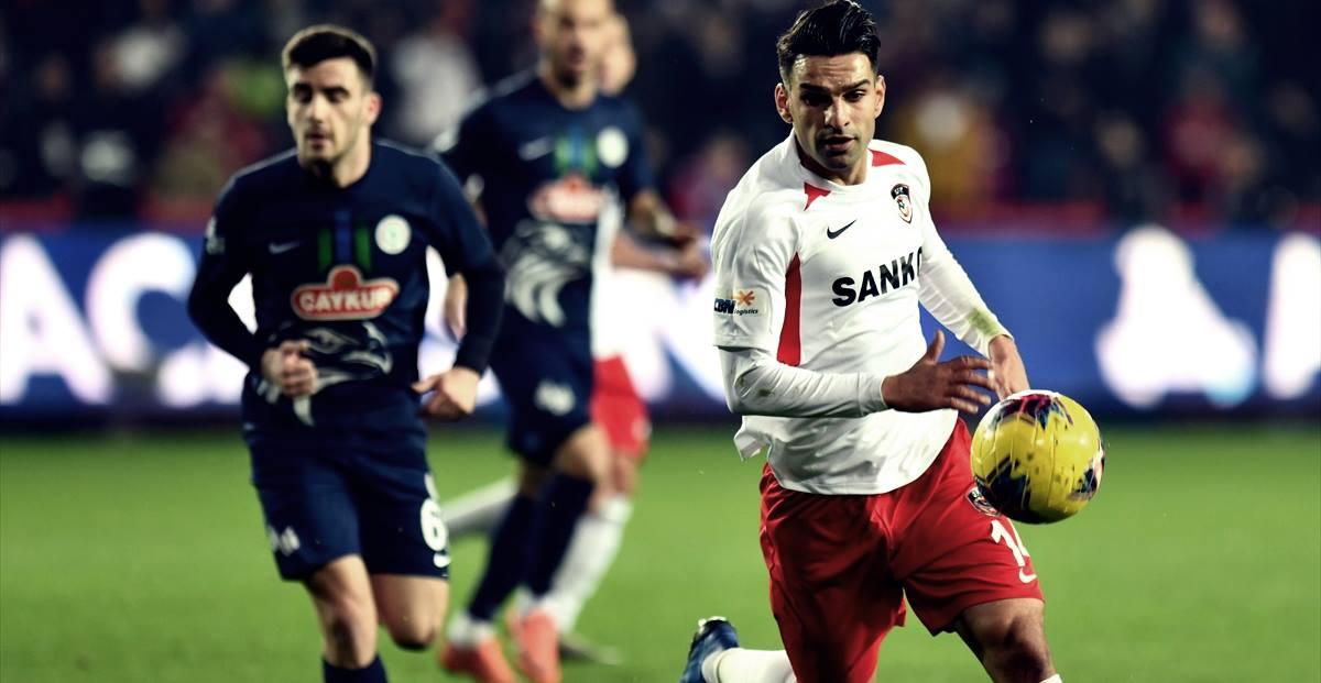 2 penaltı kaçıran Muhammet Demir... Gaziantep Çaykur Rizespor maçı özeti