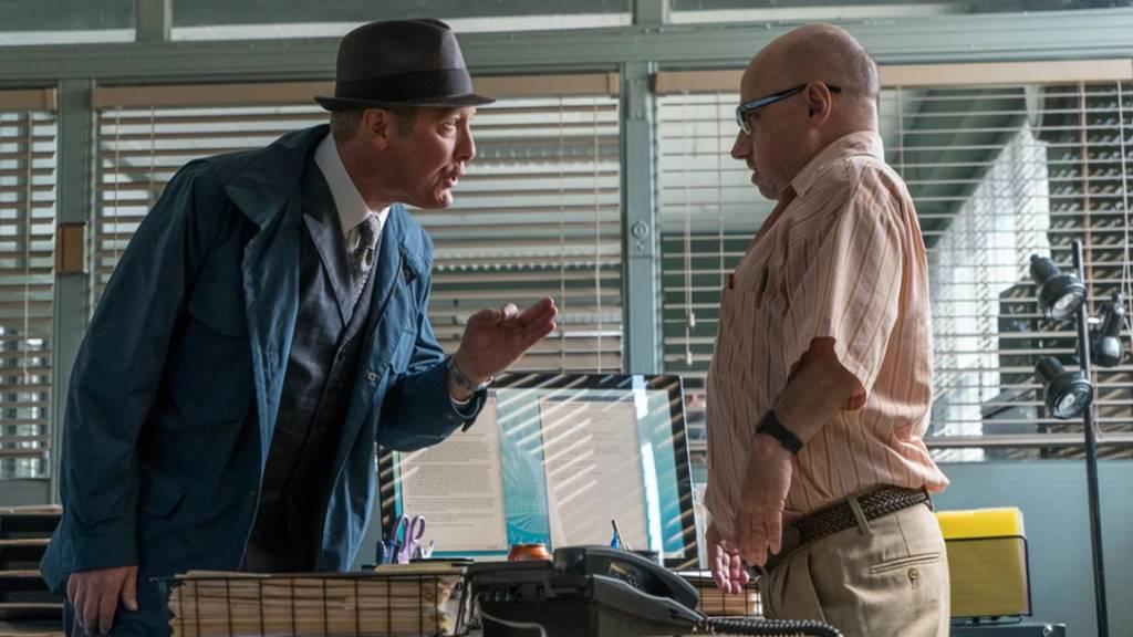 Glen Carter ve Dizinin Başrolü Raymond Reddington