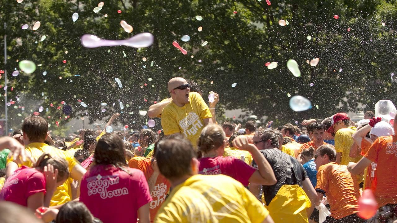 Su Balonu Savaşları Başlasın!