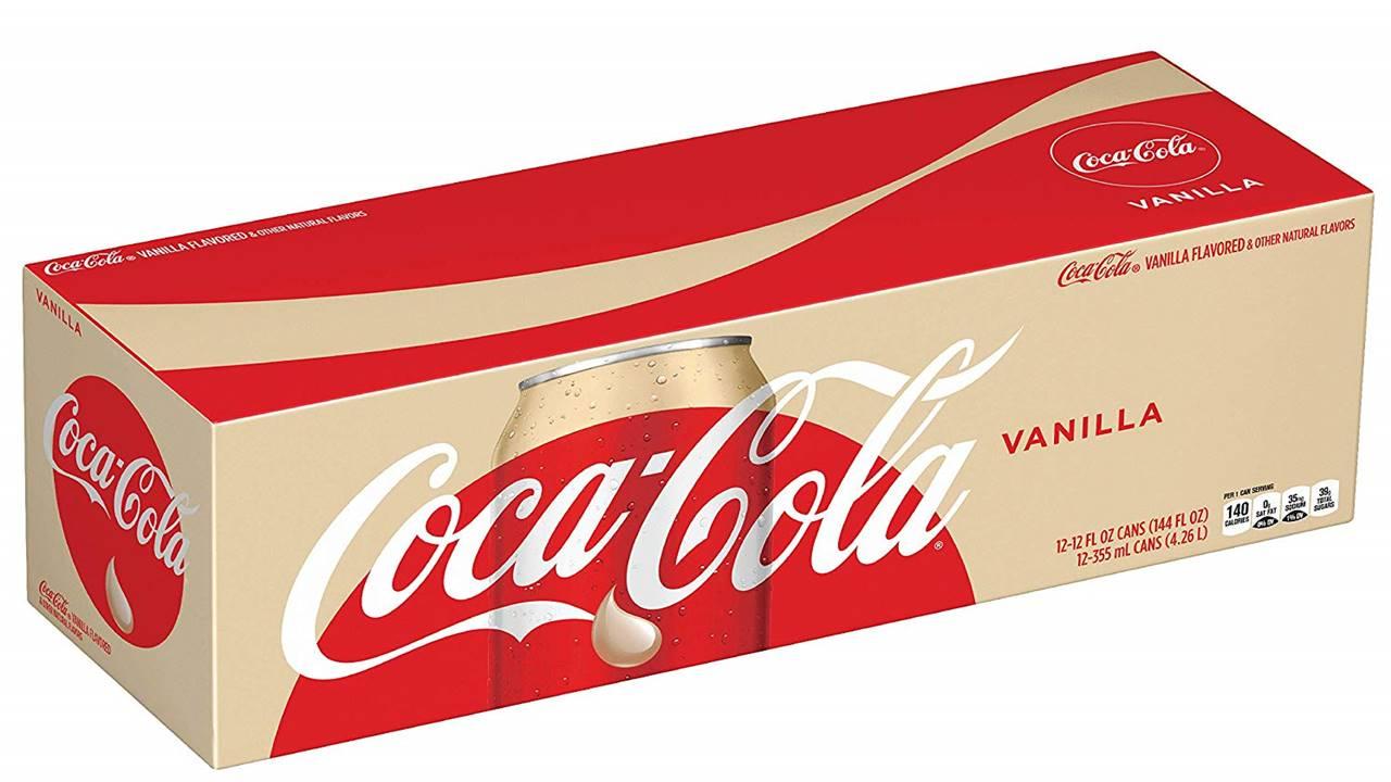 Vanilyalı Coca-Cola