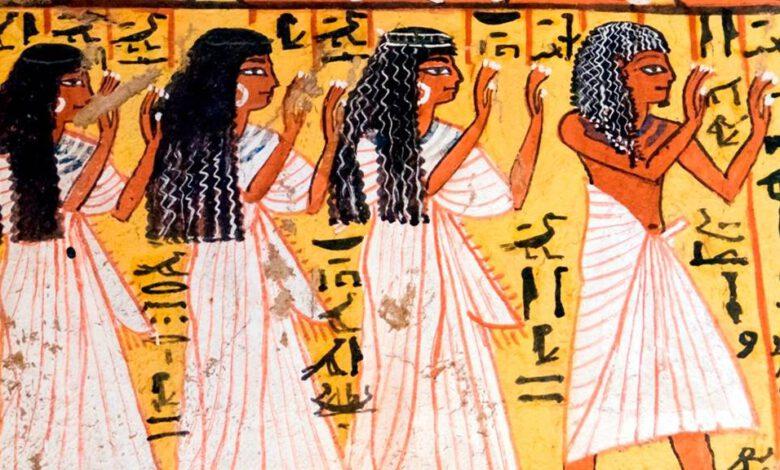 Eski Mısırlı Giyim Tarzı